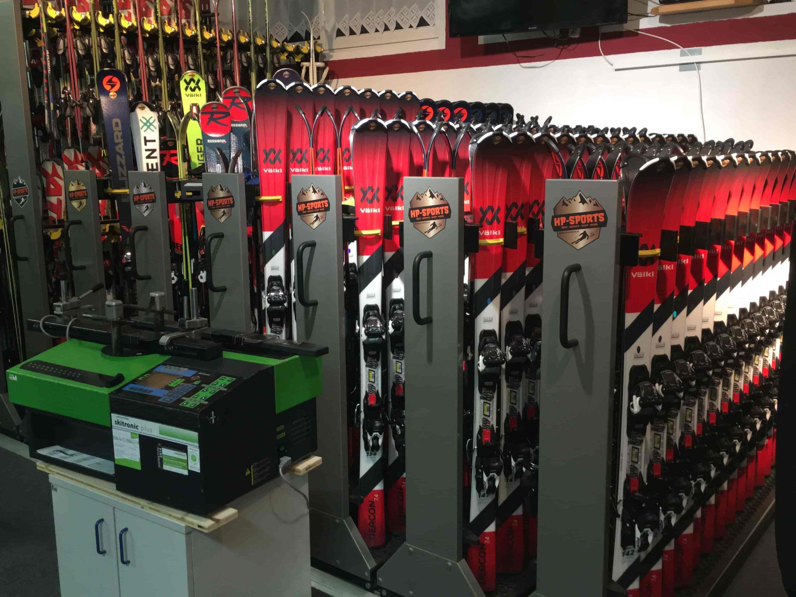 Hp sport Shop Skiverleih service